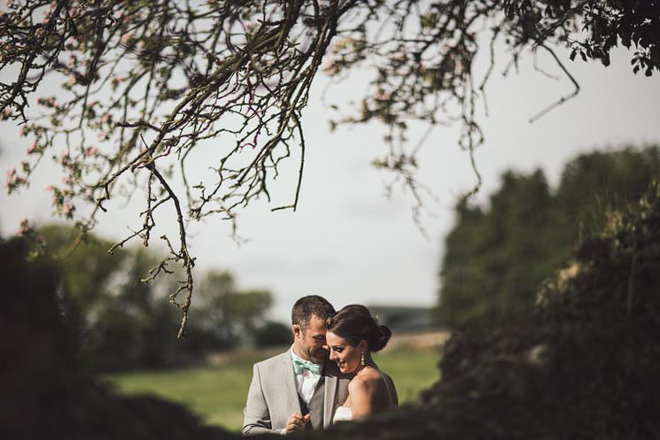 Tonie + Eric | outdoor farm wedding ceremony | American wedding in Ireland 2