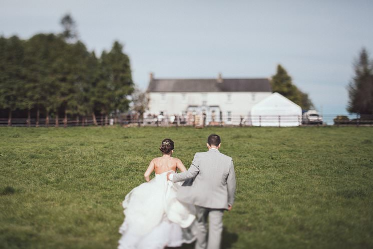 outdoor wedding ceremony Ireland
