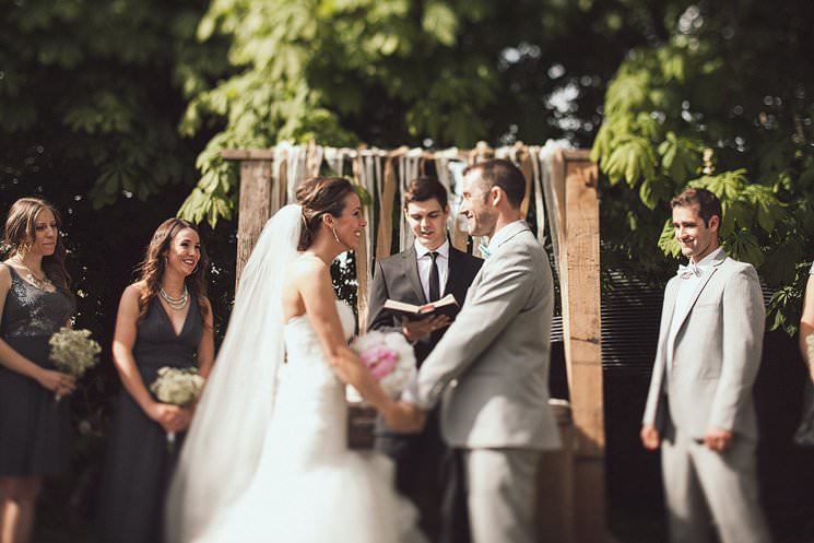 rustic farmhouse wedding - outdoor weddings