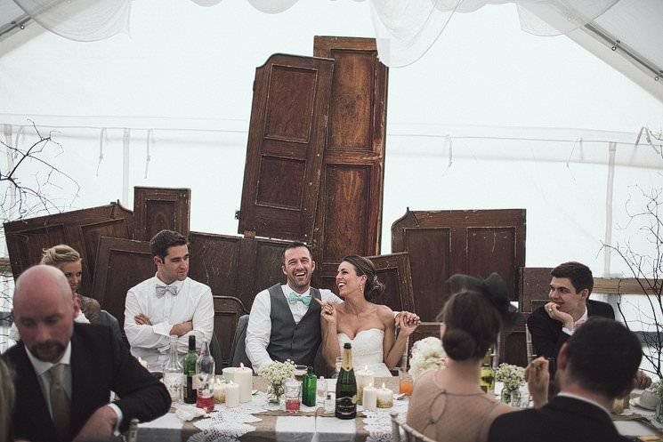 marquee wedding reception - irish weddings