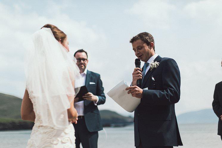 Ireland Beach Wedding Ceremony