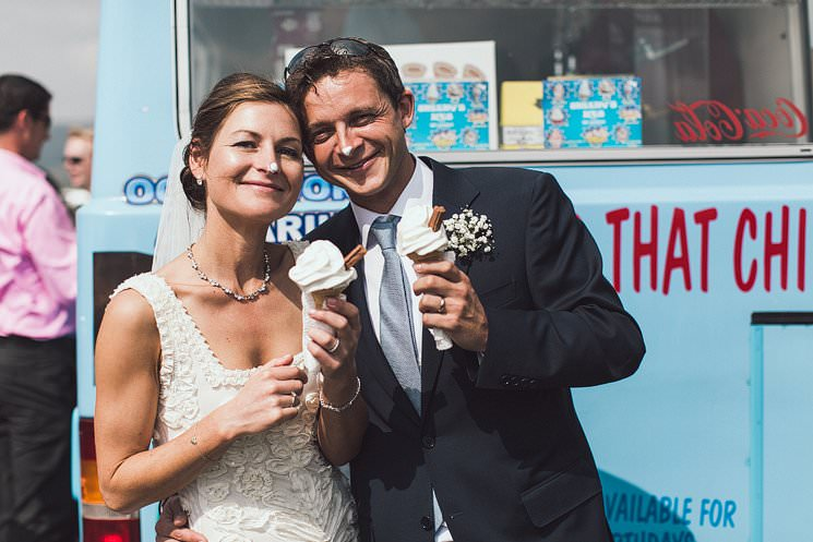 ice cream wedding van