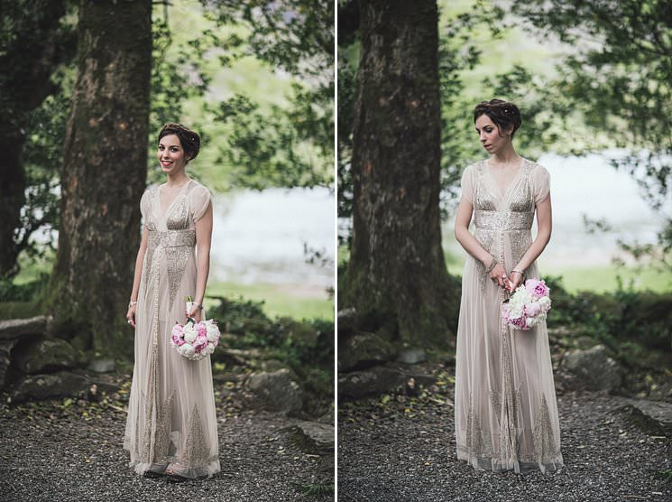 Aiguille Gown from Anna Sui wedding dress