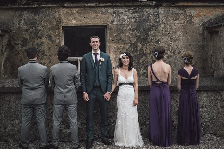 S+P | Barnabrow House | outdoor wedding ceremony | Cork humanist wedding 37