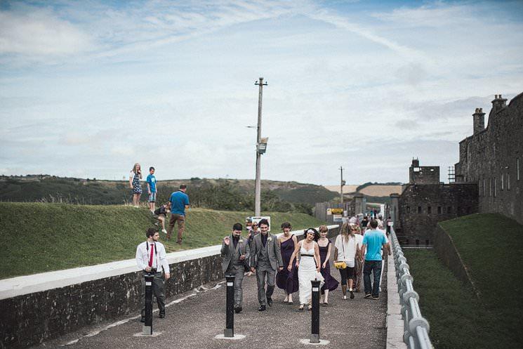 S+P | Barnabrow House | outdoor wedding ceremony | Cork humanist wedding 51