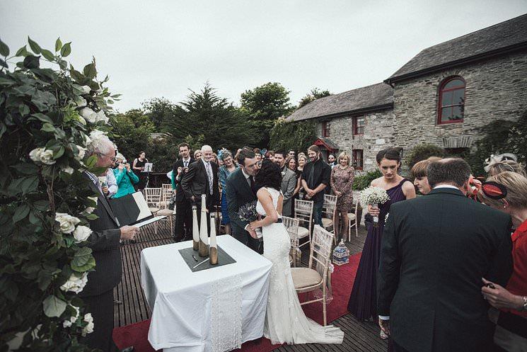 S+P | Barnabrow House | outdoor wedding ceremony | Cork humanist wedding 59