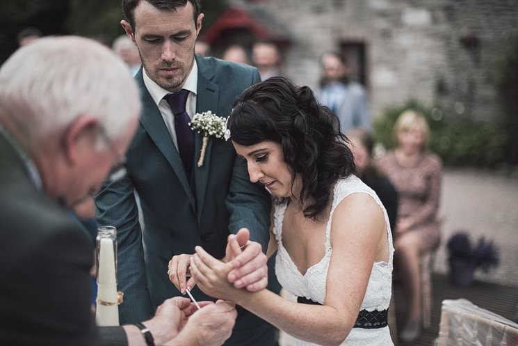 S+P | Barnabrow House | outdoor wedding ceremony | Cork humanist wedding 62
