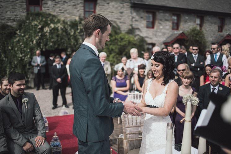 S+P | Barnabrow House | outdoor wedding ceremony | Cork humanist wedding 65