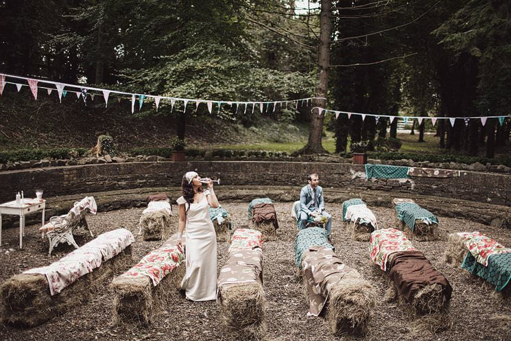 Outdoor Wedding In Station House Hotel