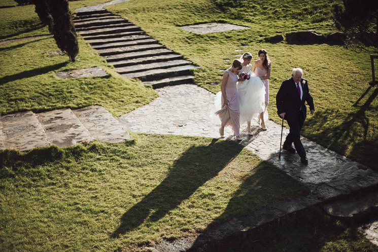 ballymagarvey village wedding civil ceremony - wedding dress cymbeline - the galice 0019