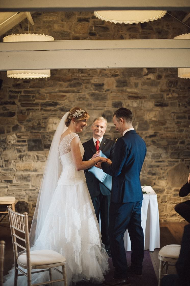 ballymagarvey village wedding civil ceremony - wedding dress cymbeline - the galice 0028