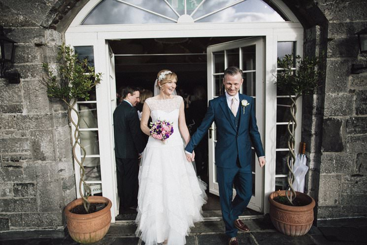 ballymagarvey village wedding civil ceremony - wedding dress cymbeline - the galice 0032