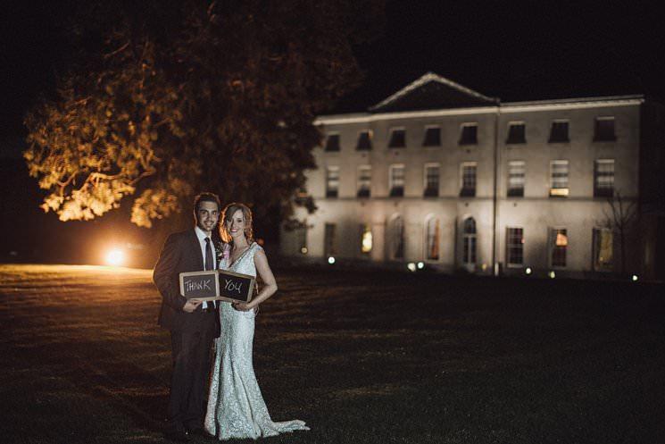Farnham estate luxury wedding, thank you cards