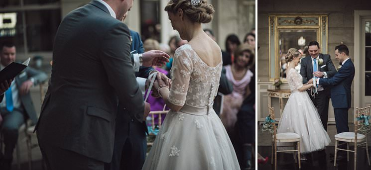 bebenca weddings - tankardstown wedding photographer - top irish modern venue -vintage dress 0047