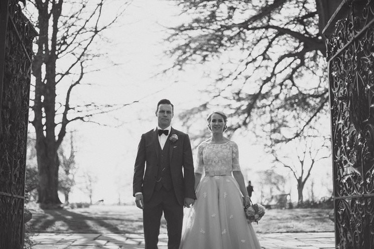 bebenca weddings - tankardstown wedding photographer - top irish modern venue -vintage dress 0061