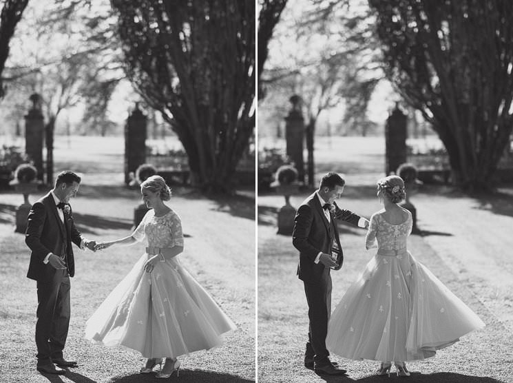 bebenca weddings - tankardstown wedding photographer - top irish modern venue -vintage dress 0064