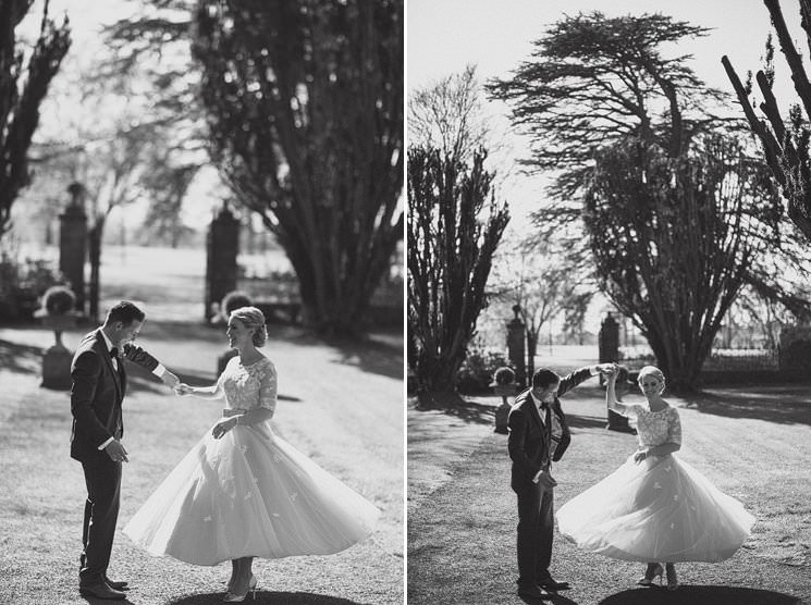 bebenca weddings - tankardstown wedding photographer - top irish modern venue -vintage dress 0065