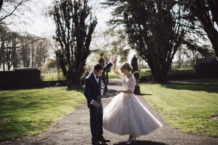 bebenca weddings - tankardstown wedding photographer - top irish modern venue -vintage dress 0066