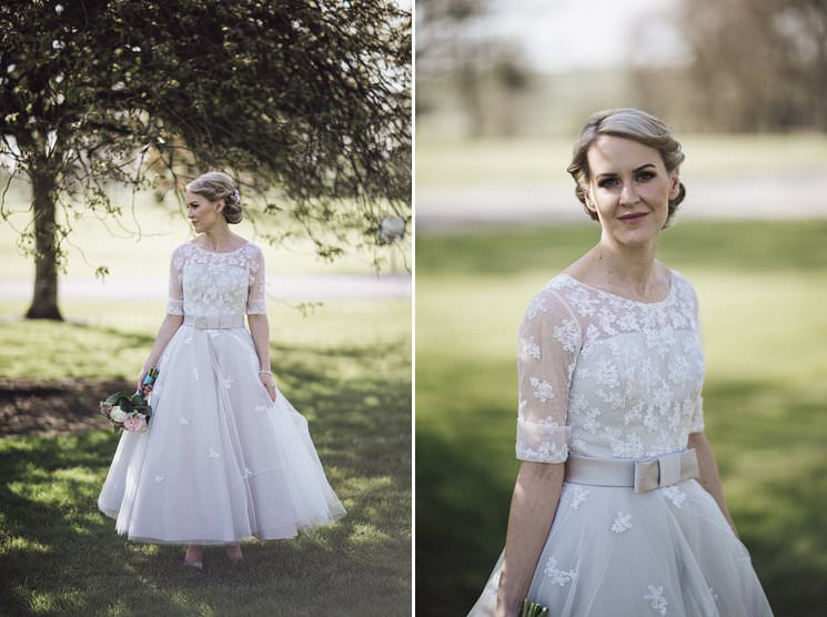 bebenca weddings - tankardstown wedding photographer - top irish modern venue -vintage dress 0075