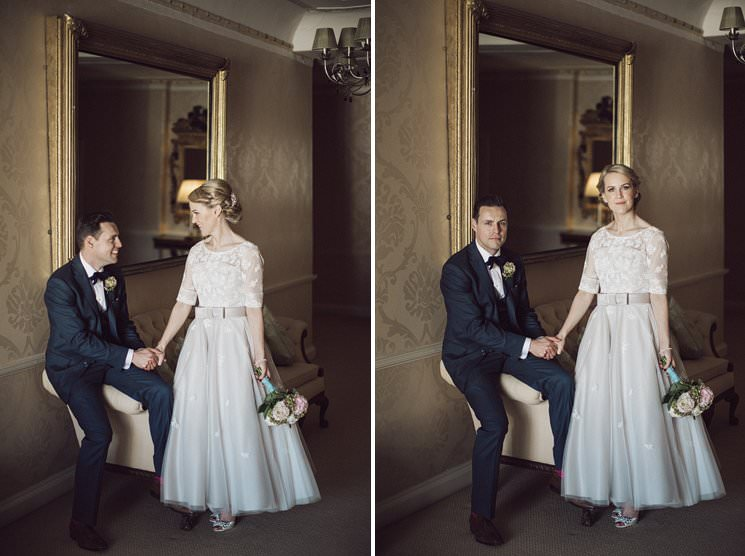 bebenca weddings - tankardstown wedding photographer - top irish modern venue -vintage dress 0086