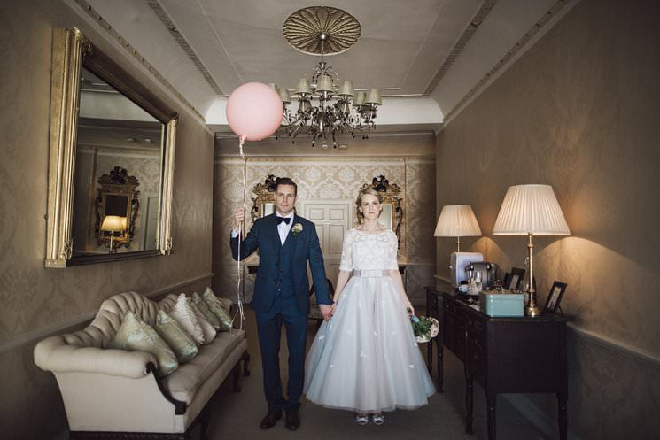 bebenca weddings - tankardstown wedding photographer - top irish modern venue -vintage dress 0095