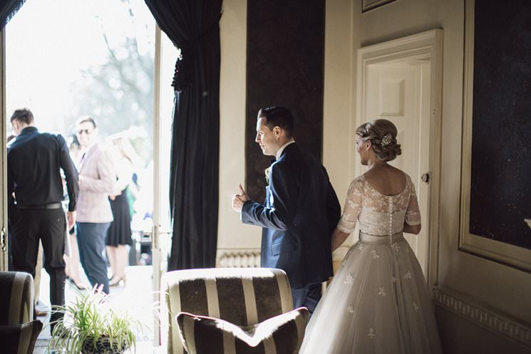 bebenca weddings - tankardstown wedding photographer - top irish modern venue -vintage dress 0098
