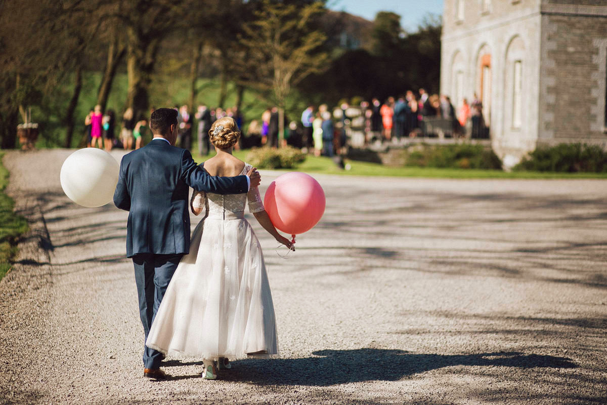 balloons at Tankardstown house Meath