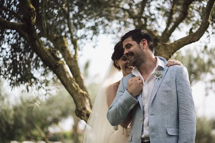 olive trees italy wedding