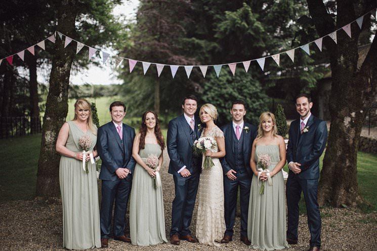 P+R | Clonwilliam House wedding | Wicklow wedding photography 2
