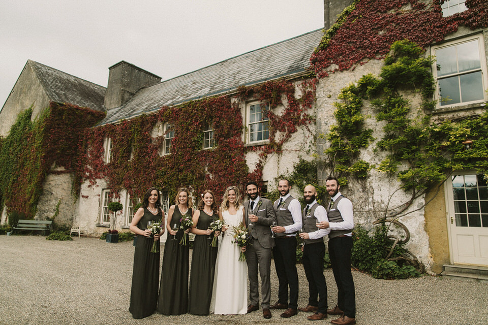 Cloughjordan house wedding - J&L 140