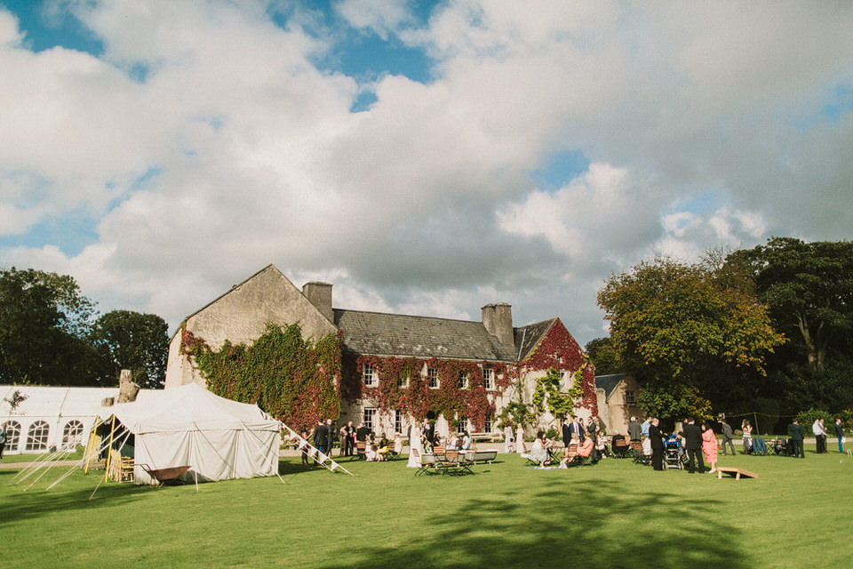 Cloughjordan house wedding - J&L 174