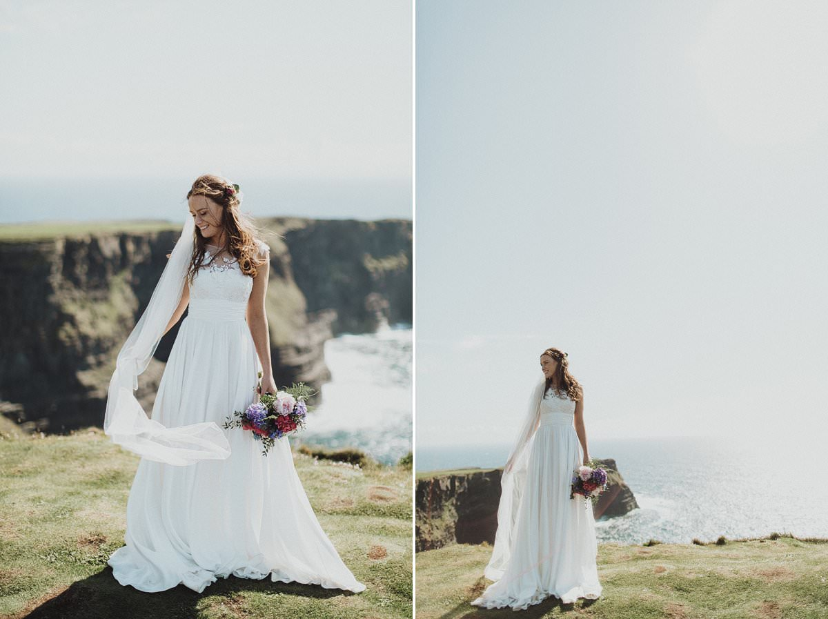 Doolin wedding - Cliffs of Moher wedding photography 0201