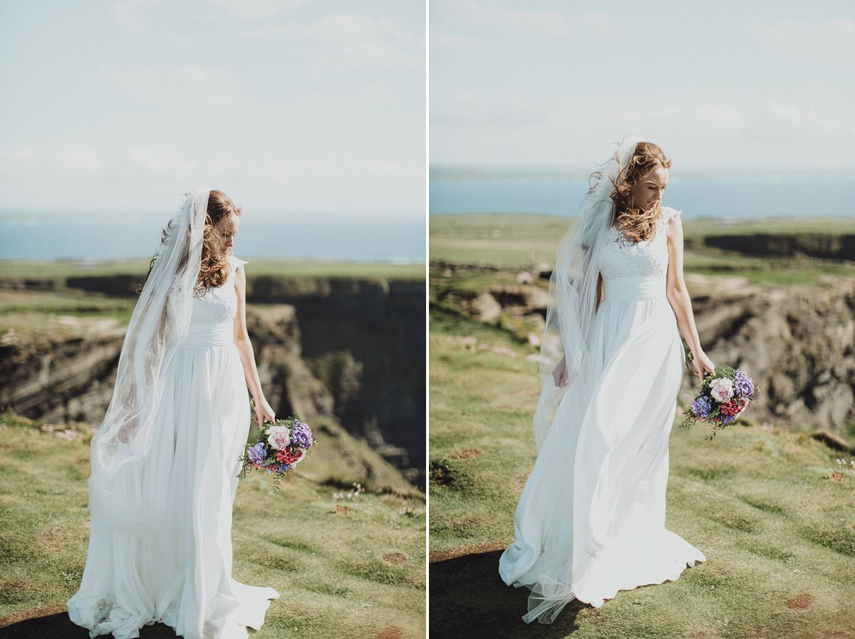 Doolin wedding - Cliffs of Moher wedding photography 0203