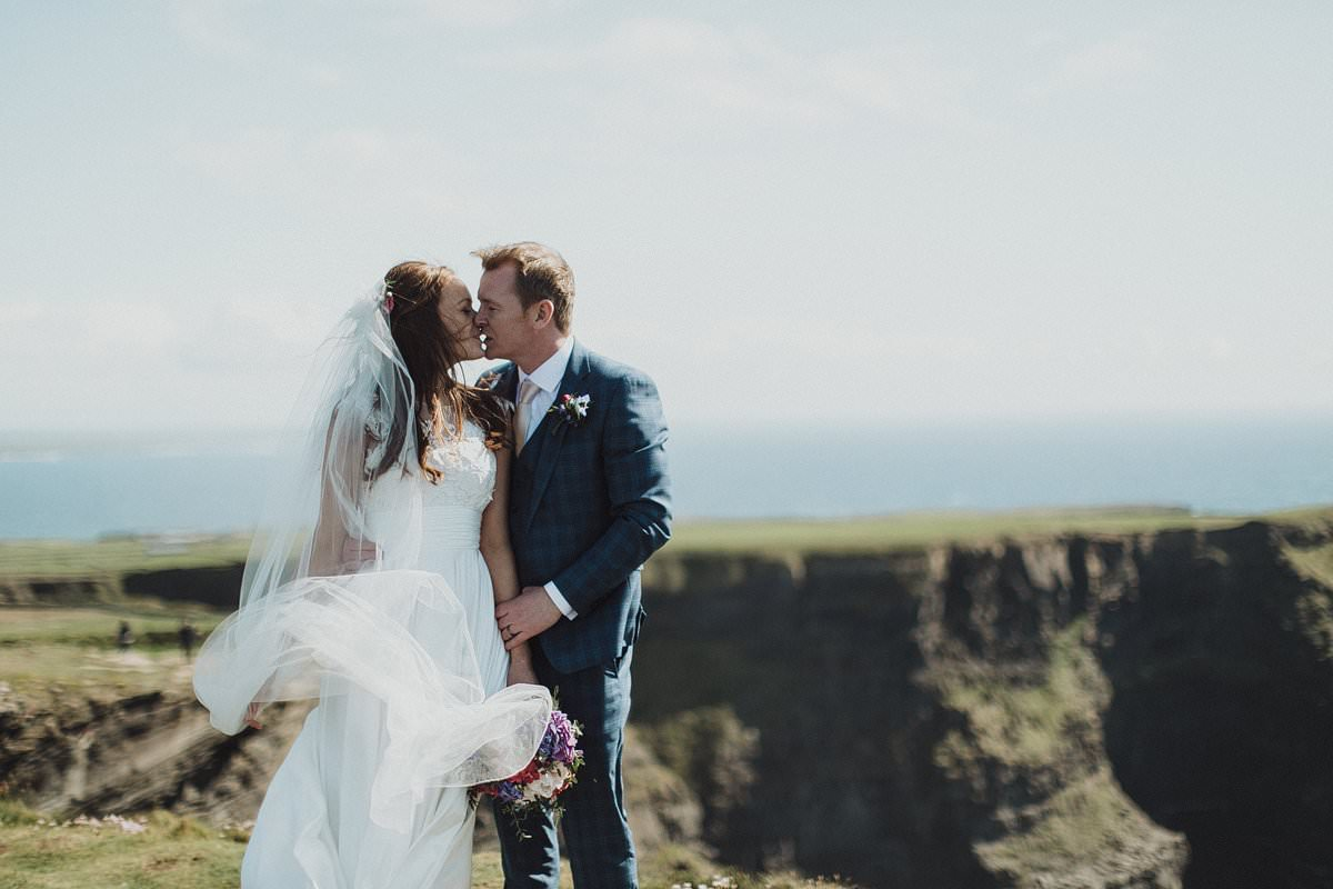 Doolin wedding - Cliffs of Moher wedding photography 0207