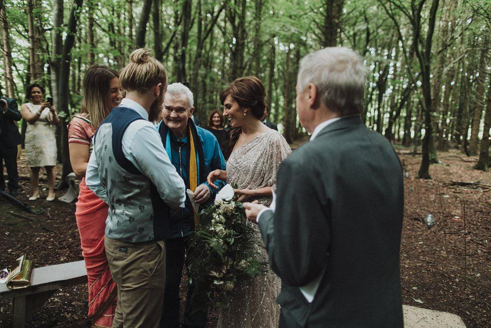Outdoor Woods Wedding Ceremony: Woods Outdoor Wedding Ceremony Killyon Manor