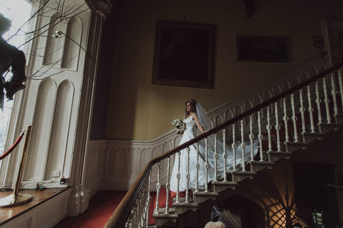 irish castle bride