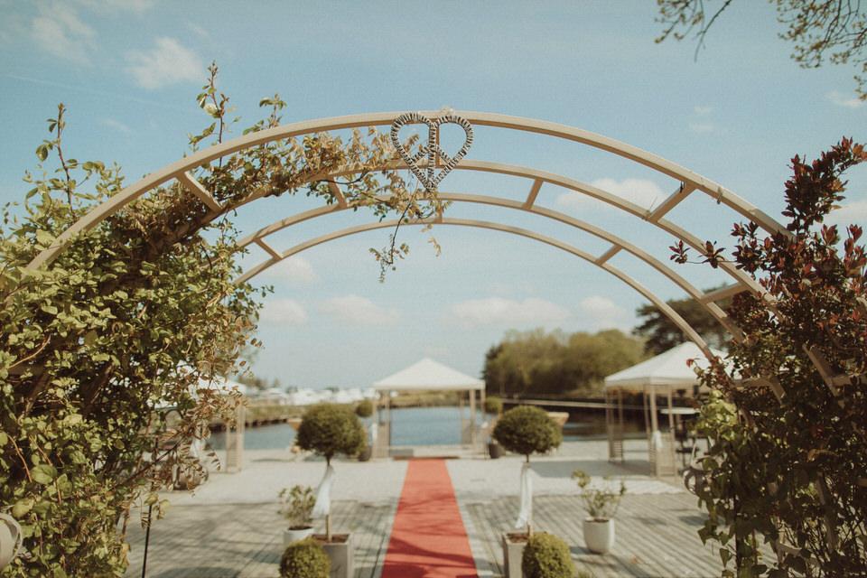 Coolbawn Quay wedding - K&O - lake wedding 2