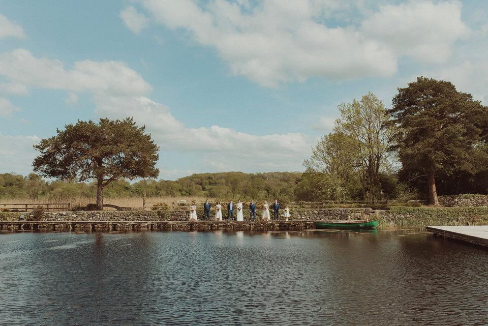 Coolbawn Quay wedding - K&O - lake wedding 24