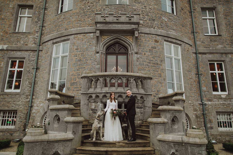 Markree Castle wedding - S&K 128