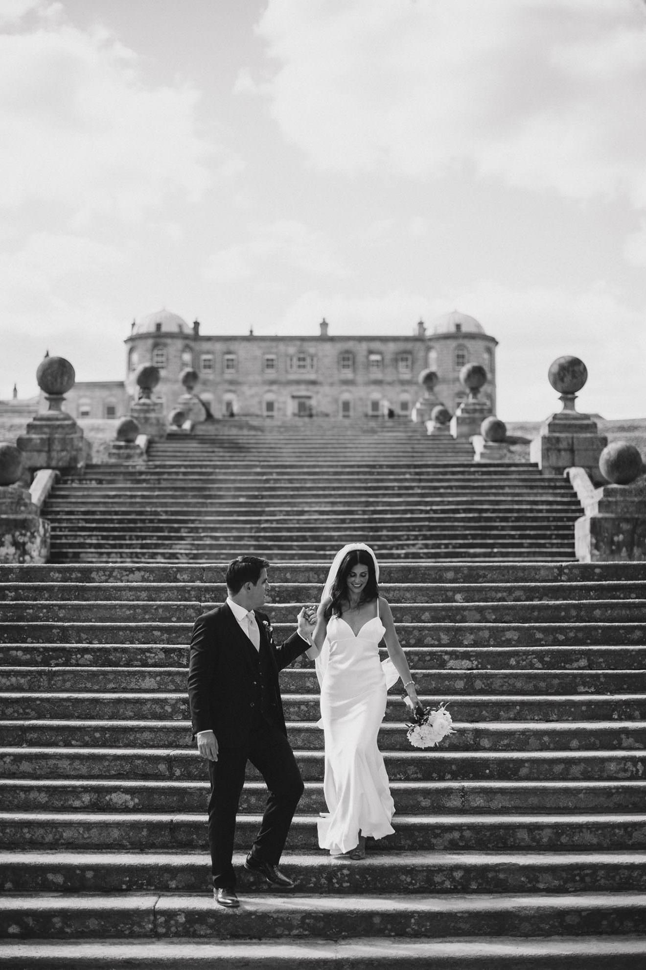Powerscourt Gardens wedding - L&C - one photo 1