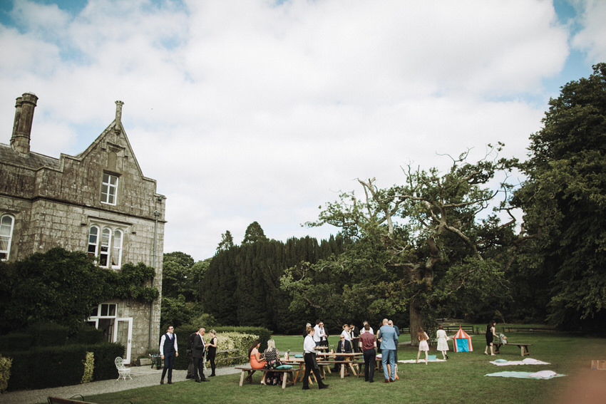 Lisnavagh House wedding - M&T - Summer Wedding Ireland 176
