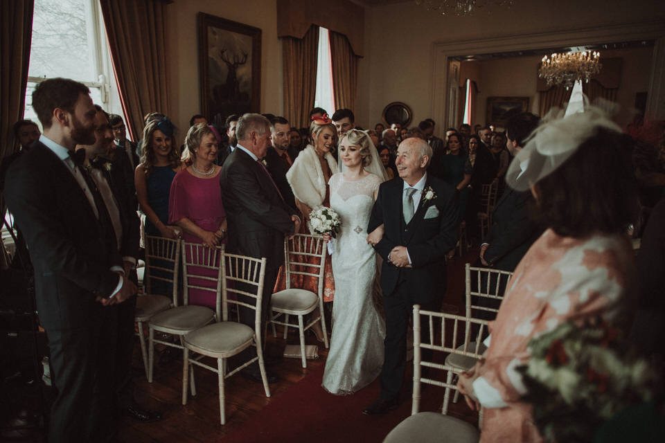 Moyvalley wedding - Balyna House ceremony - Cheryl&Conor 30