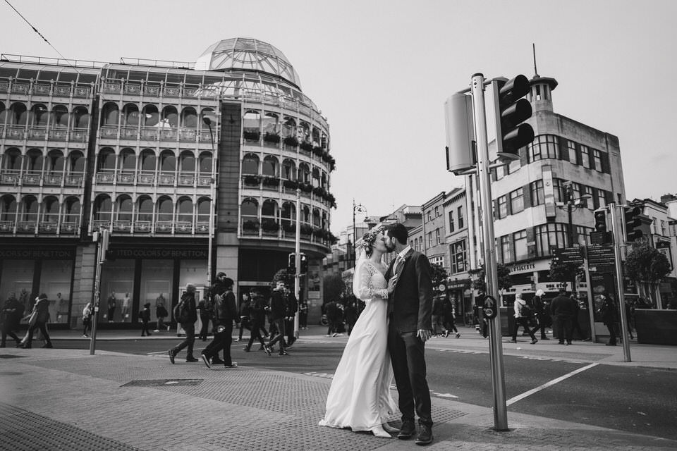 Dublin wedding photography - Annika & Simon - wedding celebration at Fallon n Byrne 103
