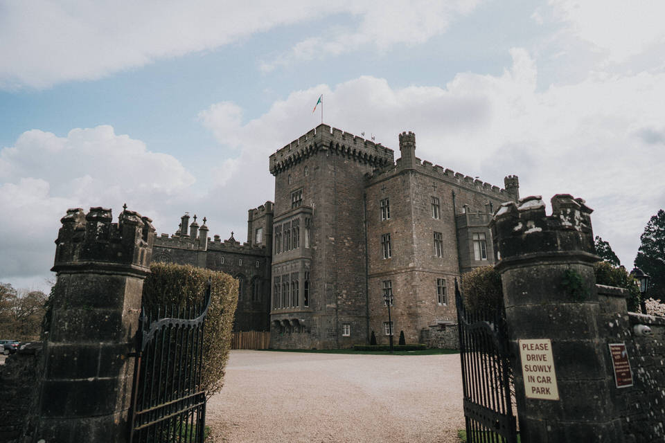 Anjelica & Andrew - Markree Castle Destination Wedding Ireland 1