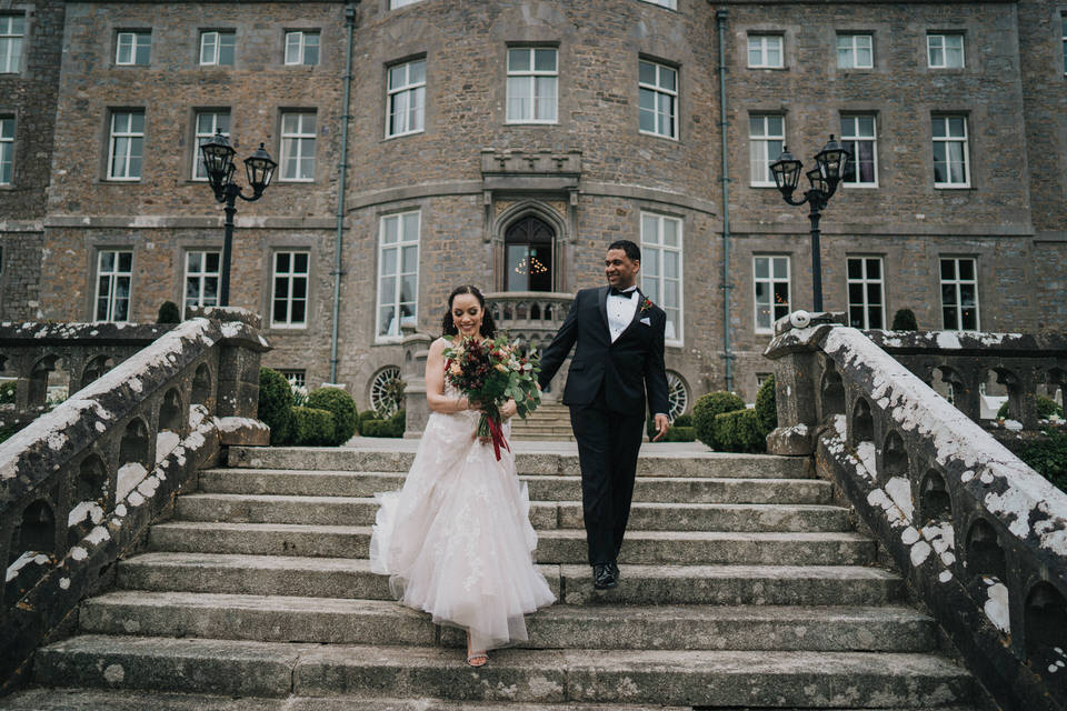Anjelica & Andrew - Markree Castle Destination Wedding Ireland 25