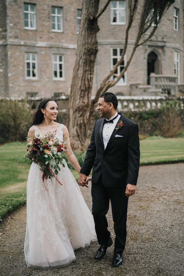 Anjelica & Andrew - Markree Castle Destination Wedding Ireland 27