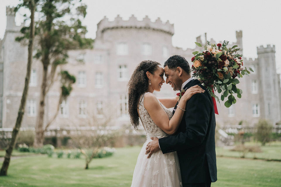 Anjelica & Andrew - Markree Castle Destination Wedding Ireland 28
