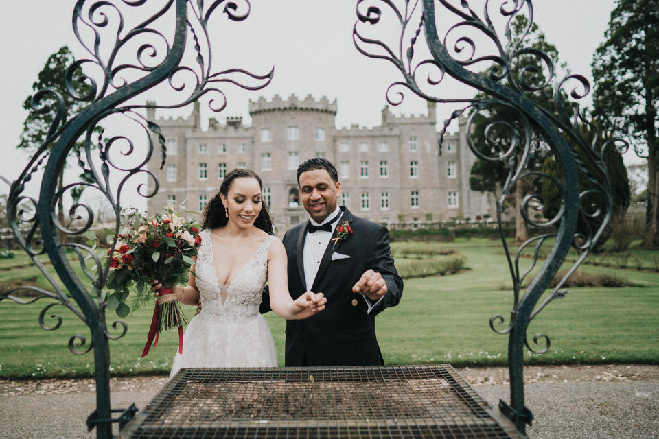 Anjelica & Andrew - Markree Castle Destination Wedding Ireland 30