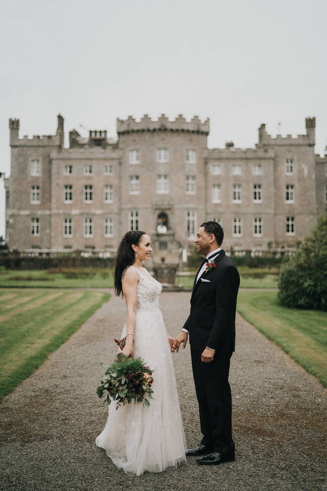 Anjelica & Andrew - Markree Castle Destination Wedding Ireland 31