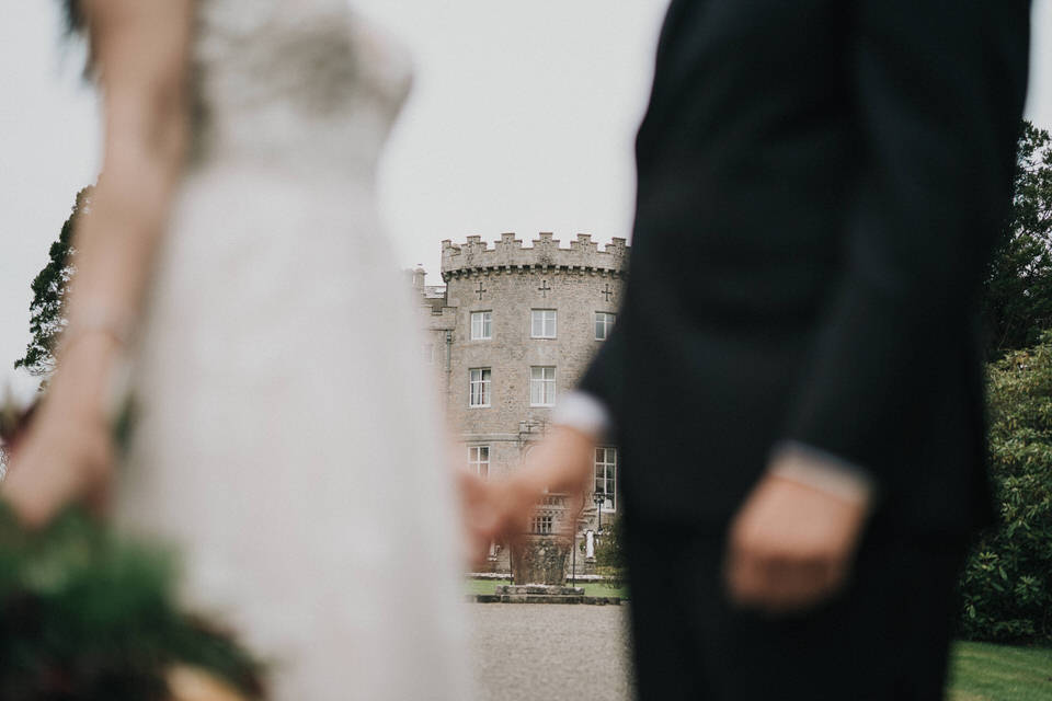 Anjelica & Andrew - Markree Castle Destination Wedding Ireland 33